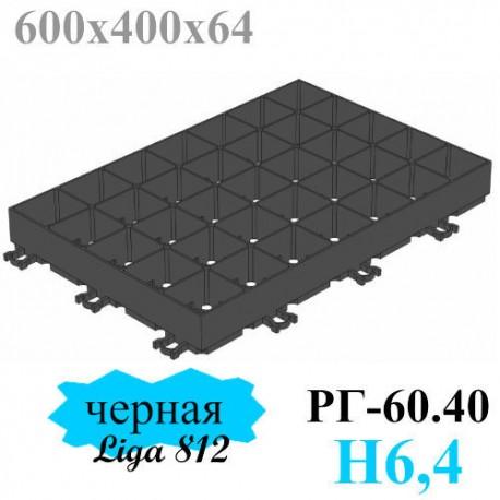 Газонная решетка Gidrolica Eco Super РГ-60.40.6,4 - пластиковая черная