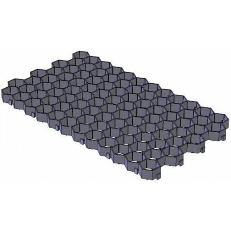 Газонная решетка Gidrolica Eco Standart РГ-70.40.3,2 - пластиковая черная