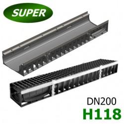 Лоток Gidrolica Super ЛВ-20.24,6.12 пластиковый