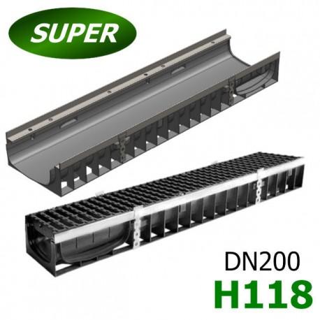 Модель: Лоток Gidrolica Super ЛВ-20.24,6.12 пластиковый
