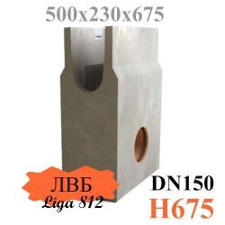 Пескоуловитель бетонный ПБ Norma Plus 150 (с муфтой 110 мм)
