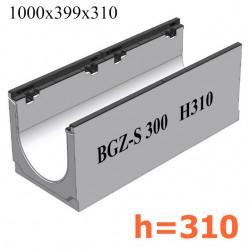 Лоток BGZ-S DN300 H310