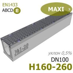 Лотки MAXI DN100 с уклоном