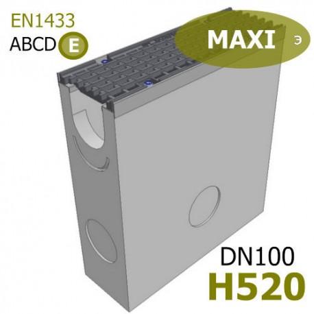 Пескоуловитель MAXI DN100 H520 бетонный