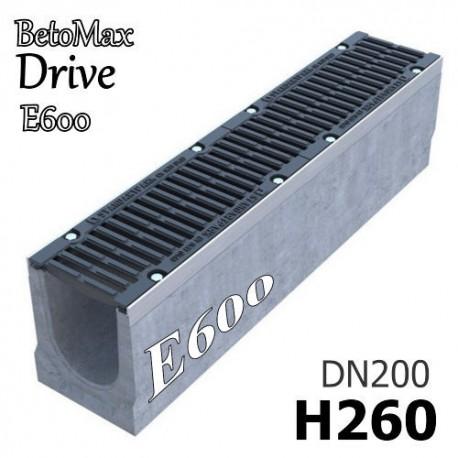 """Лоток BetoMax Drive ЛВ-20.26.26-Б с РВ """"шина"""" ВЧ кл.E (к-т) 04557155"""