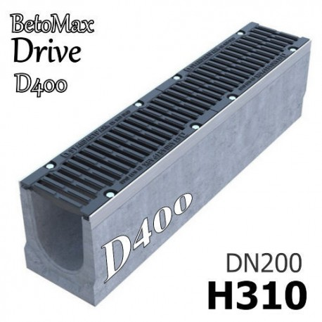 Лоток BetoMax Drive ЛВ-20.26.31-Б с РВ щель ВЧ кл.D (к-т) 045071334