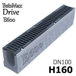BetoMax Drive DN100 H160 с решеткой, кл. E