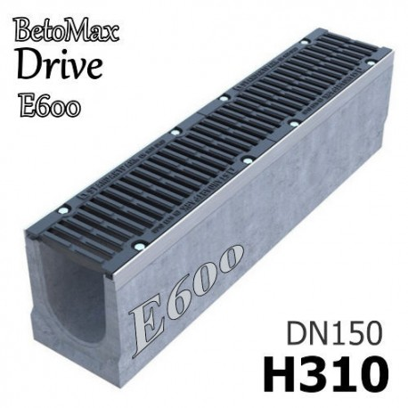 """Лоток BetoMax Drive ЛВ-15.21.31-Б с РВ """"шина"""" ВЧ кл.E (к-т) 04267155"""