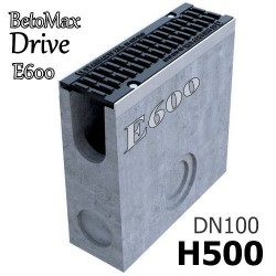 Пескоуловитель BetoMax Drive DN100 H500 с решеткой, кл. E