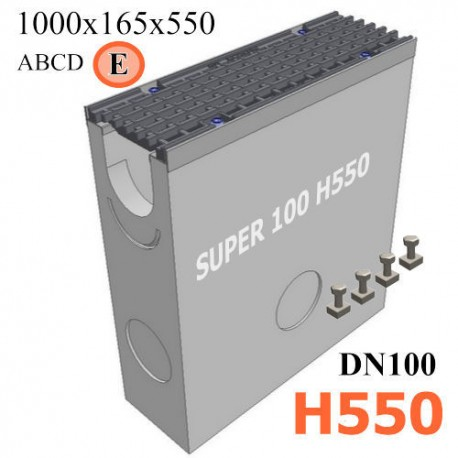 Пескоуловитель SUPER DN100 H550, кл. E