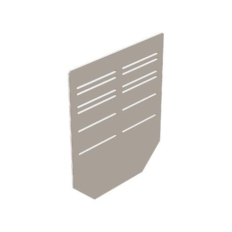 Заглушка 230 мм для бетонных лотков DN150