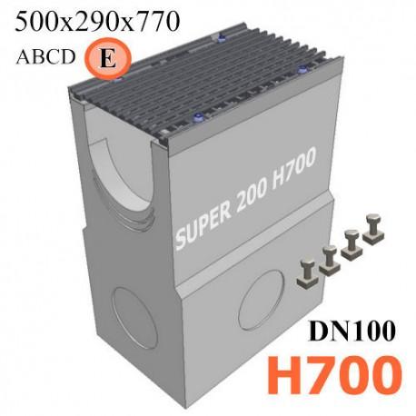 Пескоуловитель SUPER DN200 H700, кл. E