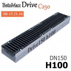 BetoMax Drive DN150 H100 с решеткой, кл. C