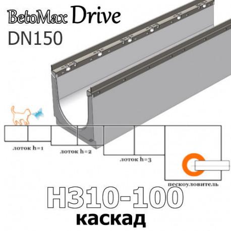 BetoMax Drive DN150 каскады