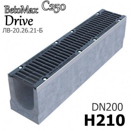 Лоток BetoMax Drive ЛВ-20.26.21-Б с РВ щель ВЧ кл.C (к-т)