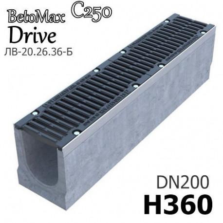 Лоток BetoMax Drive ЛВ-20.26.36-Б с РВ щель ВЧ кл.C (к-т)