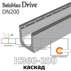 BetoMax Drive DN200 каскады