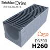 Лоток BetoMax Drive ЛВ-30.36.26-Б бетонный с решеткой чугунной ВЧ, кл. C (комплект)