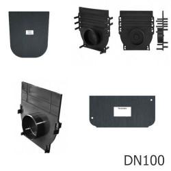 Заглушки для лотков PolyMax DN100