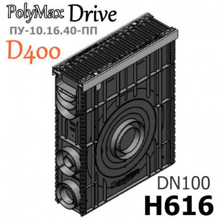 Пескоуловитель сборный PolyMax Drive ПУC-10.16.60-ПП с РВ щель ВЧ кл.D (к-т)