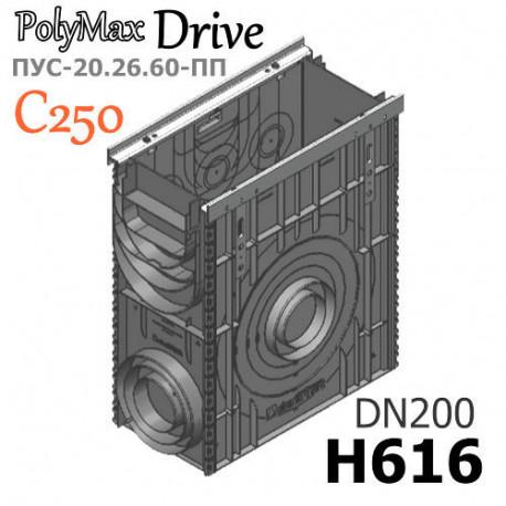 Пескоуловитель PolyMax Drive ПУC-20.26.60-ПП в сборе, кл. C