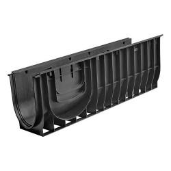 Лоток водоотводный Gidrolica Standart ЛВ-30.38.38 – пластиковый / вид 2