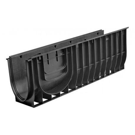 Лоток водоотводный Gidrolica Standart ЛВ-30.38.38 – пластиковый