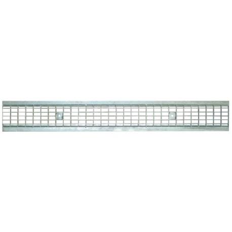 Решетка стальная ячеистая DN100 оцинкованная арт. 31031В
