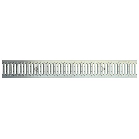 Решетка водоприемная Basic DN100 стальная штампованная (оцинкованная)