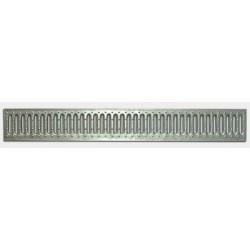Решетка водоприемная Basic РВ-10.14.100 штампованная стальная оцинкованная 2010