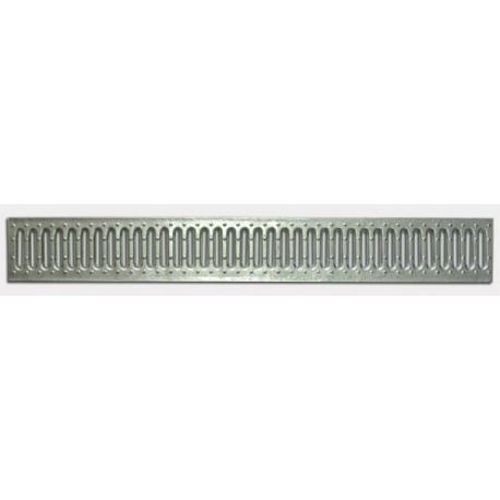 Решетка водоприемная Basic DN100 стальная оцинкованная (без отверстий)