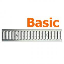 Решетка водоприемная Basic DN100 нержавеющая сталь (штампованная)