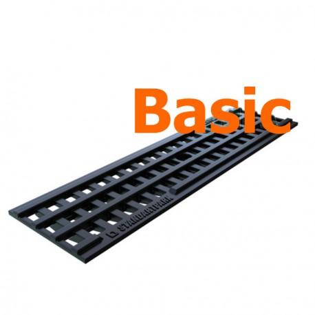 Водоприемная пластиковая решетка PolyMax Basic DN100 (ячеистая)
