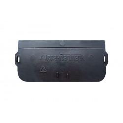 Заглушка пластиковая для лотков PolyMax DN100 H55/80