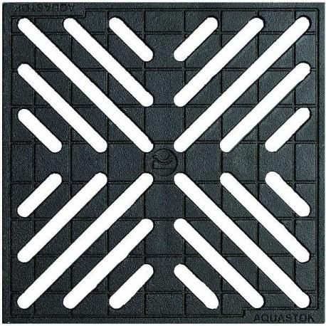 Решетка чугунная для дождеприемника 300х300