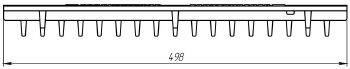 Решетка водоприемная Basic DN300 чугунная (ячеистая)