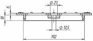 Решетка водоприемная чугунная-20.24.50 ВЧ-50 кл.C (щелевая)