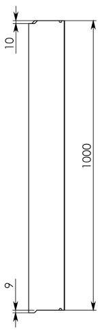 Схема 3: Лоток водоотводный ЛВ-10.14.13 - бетонный