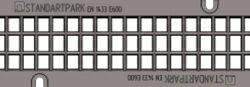 Решетка для лотка BetoMax DN110 H180, кл. E (ячеистая)