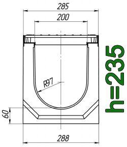 Схема: лоток Maxi ЛВ-20.29.23