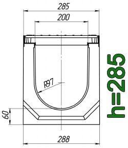 Схема: лоток Maxi ЛВ-20.29.28