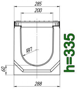 Схема: лоток Maxi ЛВ-20.29.33
