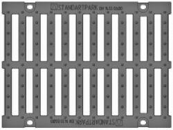 Решетка для лотка BetoMax ЛВ-30.38.31, кл. E (щелевая)