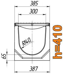 Схема: лоток Maxi ЛВ-30.38.41