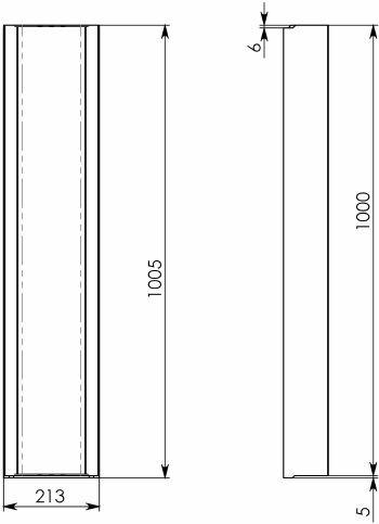 Схема 2: BGF Мелкосидящий лоток DN150, h 100, без уклона