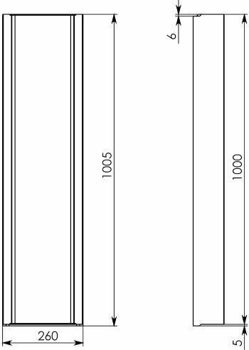 Схема 2: BGF Мелкосидящий лоток DN200, h 100, без уклона