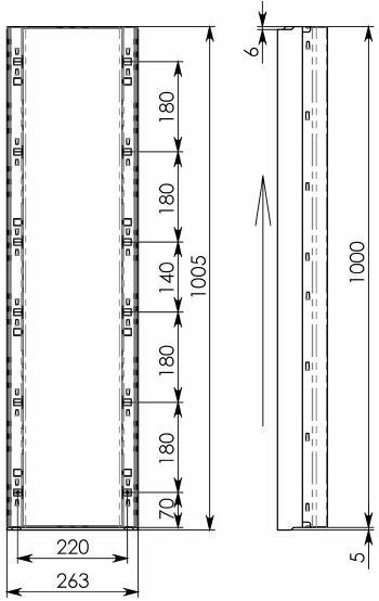 Схема 2: лоток КП 100.26,3 (20).19(15,5) - BGF-Z
