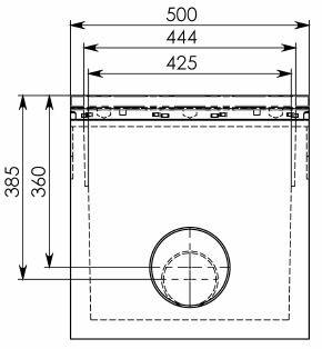 Схема 1: Пескоуловитель BGU-Z DN100