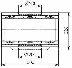 Схема 2: Пескоуловитель BGU-Z DN200