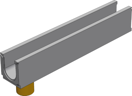 BGU DN100 с вертикальным выпуском